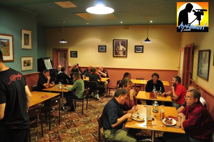 One of the dining rooms at Jennacubbine Tavern, Goomalling