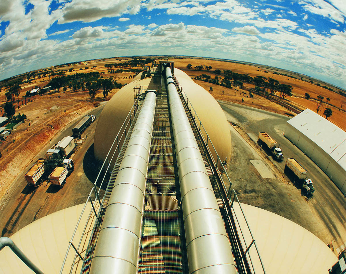 View from the top of the Goomalling domes