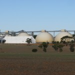 View of the Goomalling domes from Beecroft Rd