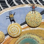 Mosaic at Goomalling Primary School, Western Australia