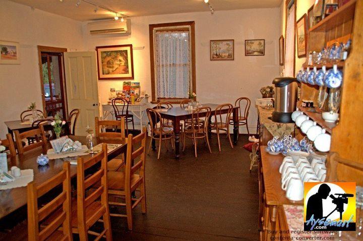 The tearoom in historic Slater Homestead, Goomalling