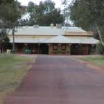 The road to the Jennacubbine Tavern, Goomalling, Western Australia