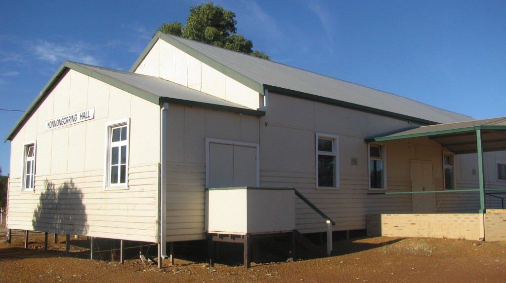 Konnongorring Town Hall, Goomalling Western Australia