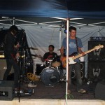 Live entertainment at the Jennacubbine Tavern, Goomalling, Western Australia