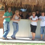 Bali bar at the Jennacubbine Tavern, Goomalling, Western Australia