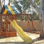 Playground at the Jennacubbine Tavern, Goomalling, Western Australia
